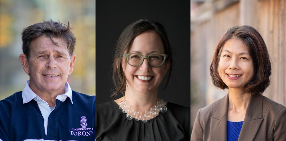 Wade Knapp, Elise Shelley, and Debbie Kwan